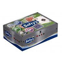 Lenço De Papel Softys Com 100 unidades
