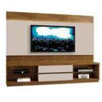 Estante Home Theather p/ TV até 65 Polegadas Istambul - Mavaular Canion/Off White