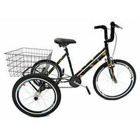 Bicicleta Triciclo Valdo Bike Aro 24 Camuflado