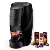 Máquina De Café Espresso Tres Lov Preto Brilhante 220V + 3 Caixa
