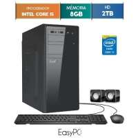 Computador Desktop Easypc Core I5 5676 3.2GHz 8GB 2TB Windows 10