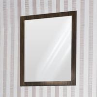 Espelho Com Moldura Rt3051 80cmx62cm Movelbento Castanho