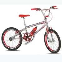 Bicicleta Infantil Sport Bike Top Cross Aro 20 Cromada Vermelha
