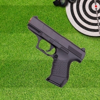 Pistola Airsoft 6mm G19 Spring Full Metal Galaxy