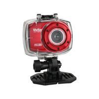 Câmera Filmadora de Ação Vivitar DVR787HD Full HD 12.1MP Vermelha