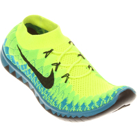 various colors 28837 3401b Tênis Nike Free Flyknit 3.0 Masculino Verde e Azul