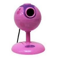 Webcam Maximo 92987WAL Com Microfone Rosa