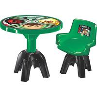 Mesa com Cadeira Lider Ben 10 Verde
