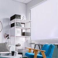 Persiana Toucher 1,20x1,40m para Quarto e Sala Branco Branco