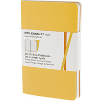 Caderno de Anotações Moleskine Volant Ruled Golden Yellow Pocket