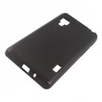Capa Tpu para LG Optimus II L5 E455 + Pelicula Grafite