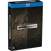 Coleção Band Of Brothers + The Pacific 12 Discos Blu-Ray - Multi-Região / Reg.4