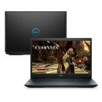 Notebook Gamer Dell G3-3590-M20P 9ª Geração Intel Core i5-9300HQ 8GB 1TB 128GB FHD 15.6 Windows 10 Preto