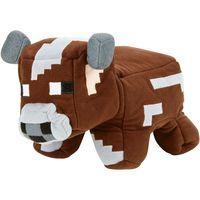 Pelúcia Mattel Minecraft 2 em 1 Vaca e Carne