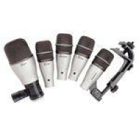 Dk5 - Kit 5 Microfones C/ Fio P/ Bateria Dk 5 - Samson