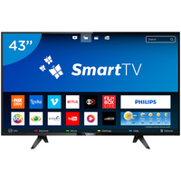 Smart TV LED 43'' Philips 43PFG5102 Conversor Digital