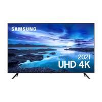 Smart Tv Led 70 Samsung 70Au7700 Uhd 4K Processador Crystal, Tela Sem Limites, Alexa Built In, Controle Único