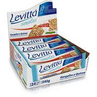 Barra Banana Brasil Levitta Sementes Gergelim e Quinoa c/ 24 Unidades de 10g