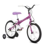 Bicicleta Infantil Houston Bloom BLMT161Q Aro 16 Roxa