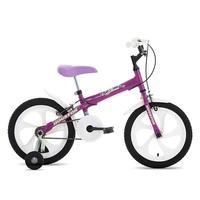 Bicicleta Infantil Houston Bloom BLMT161Q Aro 16 Roxa