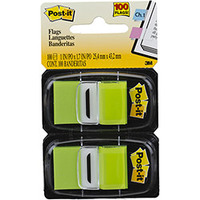 Post It 3M Flags Verde 100 Folhas