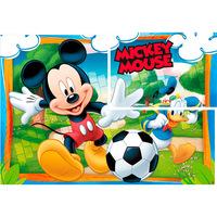 Painel Regina Festas Mickey Diversão 1 Unidade 126x88cm