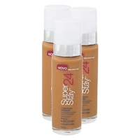 Maybelline Super Stay 24h Fnd Nu 110 Caramel Dark Com 3