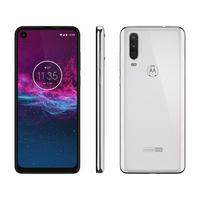 Smartphone Motorola One Action XT2013-1 Desbloqueado Dual Chip 128GB Android Pie 9.0 Branco