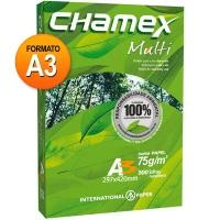 Papel Sulfite International Paper A3 Chamex Multi Alcalino 500 Folhas
