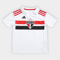Camisa São Paulo Infantil I 2018 s/n° Torcedor Adidas - Unissex