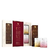Kit Sabonete Best Bronze + Autobronzeador Spray + Sabonete Hidratante Bronze Essential