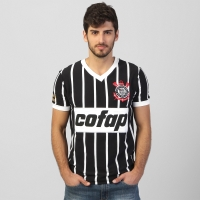 Camiseta Corinthians Réplica 1983 Masculina  e665d0c933d69