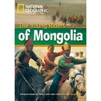 Footprint Reading Library - Level 1 800 A2 - The Young Riders Of Mongolia - British English + Mu