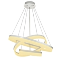 Pendente Saturn Led 80cm 3 Arcos