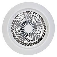 Ventilador Axial Exaustor Ventisol Residencial Premium Branco 25cm