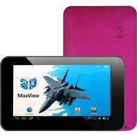 Tablet DL 3D Max View Wi-Fi Android 4.0 8GB Rosa