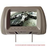 Encosto de Cabeça para Carro LCD 7'' E-Tech ET-ENC 02 Cinza
