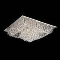 Luminaria Plafon Pl-018 12 Lâmpadas 65cm Cristal Itamonte