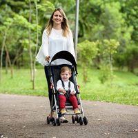 Carrinho De Bebê Guarda chuva Weego Way Preto Bb510