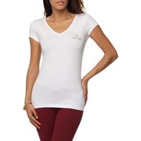 Camiseta Iódice Denim Fashion Foil Feminina Branca