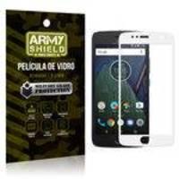 Película de Vidro Cobre a Tela Toda Motorola Moto G5S Plus Premium - Branco - Armyshield