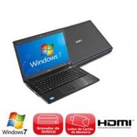 Notebook CCE Chromo 746P Core i7-2630QM 2GHz 4GB 640GB Intel
