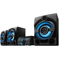 Mini System Sony Bluetooth DVD USB MP3 CD Player Rádio FM 2150W HDMI MHC-M80D