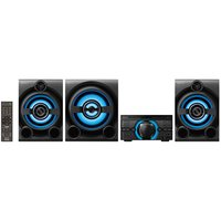 Mini System Sony Bluetooth DVD USB MP3 CD Player Rádio FM 2150W HDMI MHC-M80D