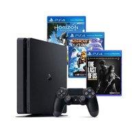 Playstation 4 Slim 500GB Sony + 3 Jogos e PS Plus