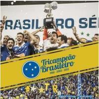 Cruzeiro - Tricampeão Brasileiro