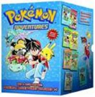 Pokemon adventures red and blue box set - Volumes 1-7