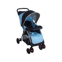 Carrinho De Bebê Passeio Baby Style Smart Reclinável Para Crianças Até 15kg Azul