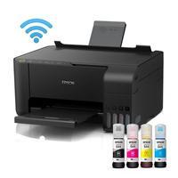 Impressora Multifuncional Epson EcoTank L3150 + Tintas