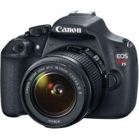 Câmera Digital Canon DSLR EOS Rebel T5 EF-S 18-55mm III